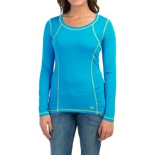 Cruel Girl Athletic Shirt - Long Sleeve (For Women) in Teal - Closeouts