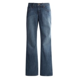 Cruel Girl Brittany Jeans - Bootcut, Relaxed Fit (For Women) in Indigo