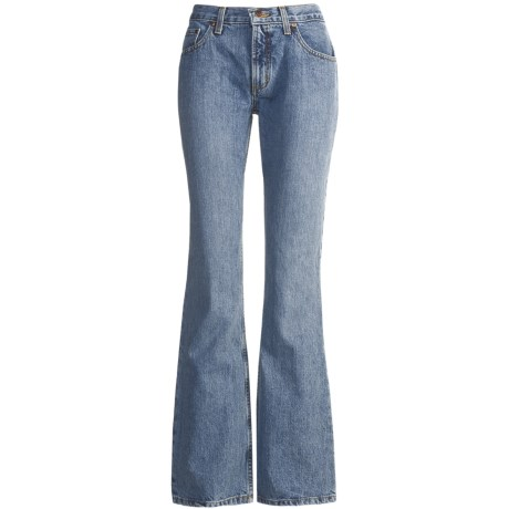 Cruel Girl Dakota Jeans - Bootcut, Relaxed Fit (For Women) in Medium Stonewash