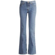 Cruel Girl Dakota Jeans - Slim Fit, Bootcut (For Women) in Medium Stonewash - Closeouts