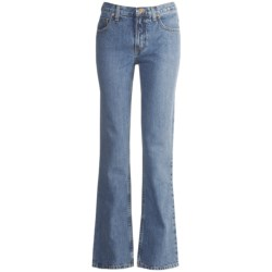 Cruel Girl Dakota Jeans - Slim Fit, Bootcut (For Women) in Medium Stonewash