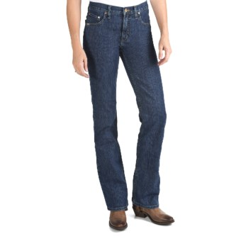 Cruel Girl Dakota Jeans - Slim Fit, Bootcut, Stretch (For Women) in Medium Stonewash