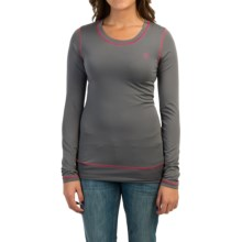 Cruel Girl Fast & Fearless Shirt - Long Sleeve (For Women) in Gray - Closeouts