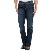 Cruel Girl Vista Jeans - Slim Fit, Mid Rise, Bootcut (For Women) in Dark Wash - Closeouts