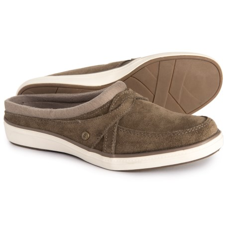 Image of Cruise Mule Shoes - Suede (For Women)