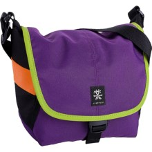 Crumpler 4 Million Dollar Home Camera Bag in Purple/Bright Green - Closeouts