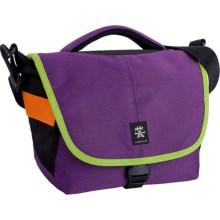 Crumpler 5 Million Dollar Home Camera Bag in Purple/Bright Green - Closeouts