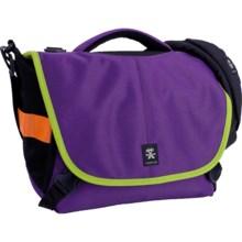 Crumpler 6 Million Dollar Home Camera Bag in Purple/Bright Green - Closeouts