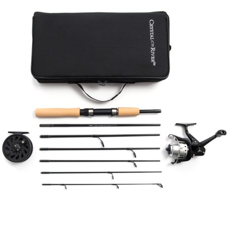 Crystal River Executive Fly/Spin Travel Pack in Asst