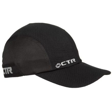 991072e7201 CTR Chase Dawn Running Baseball Cap in Black - Closeouts