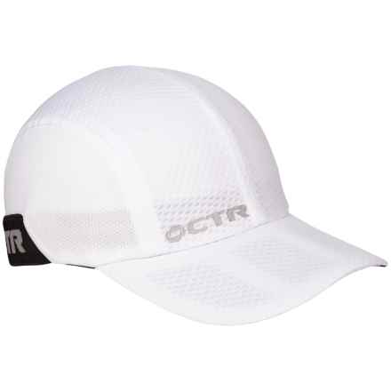 CTR Chase Dawn Running Baseball Cap in White - Closeouts