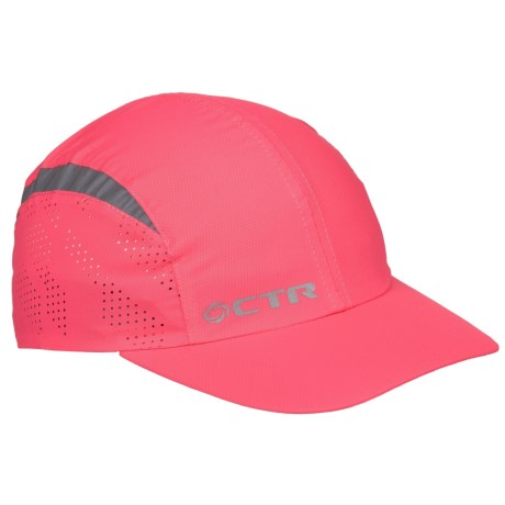 CTR Chase Midnight Running Baseball Cap in Neon Pink