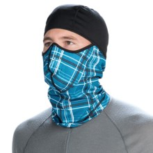 CTR Glacier MTP Thermal Balaclava (For Men) in Blue Plaid - Closeouts