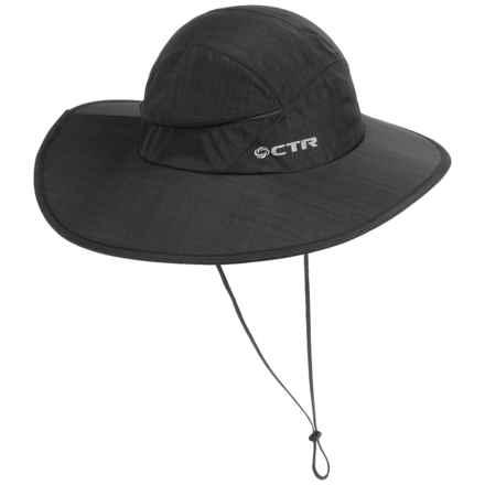 CTR Stratus Sombrero Sun Hat (For Men and Women) in Black - Closeouts