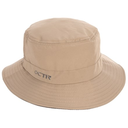 fee2cb13716 CTR Summit Bucket Hat - UPF 40+ (For Men and Women) in Khaki