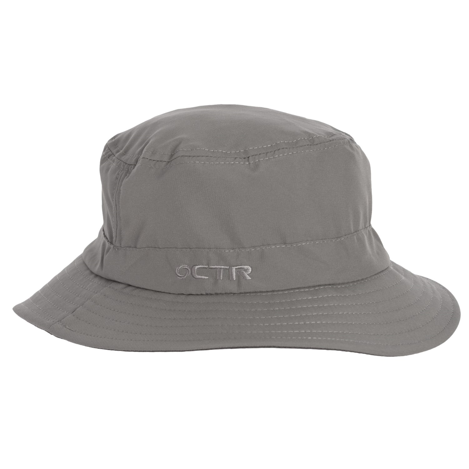 225479e5aa0e2 CTR Summit Bucket Hat - UPF 40+ (For Men and Women) in Pewter ...