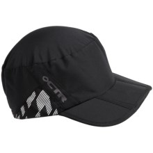 CTR Summit Cadet Cap - UPF 40+ (For Men and Women) in Black - Closeouts