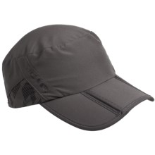 CTR Summit Cadet Cap - UPF 40+ (For Men and Women) in Magnet Grey - Closeouts