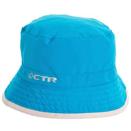 CTR Summit Shower Reversible Bucket Hat - UPF 40+ (For Kids) in Br Blue - Closeouts
