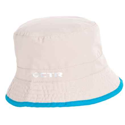 CTR Summit Shower Reversible Bucket Hat - UPF 40+ (For Kids) in Cement - Closeouts