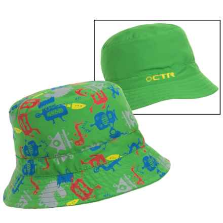 CTR Summit Sunshower Bucket Hat - UPF 50+ (For Kids) in Green - Closeouts