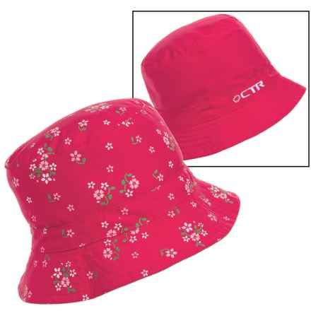 CTR Summit Sunshower Bucket Hat - UPF 50+ (For Kids) in Pink - Closeouts