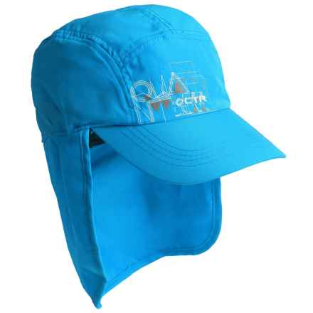 CTR Summit Sunshower Hat - UPF 50+ (For Kids) in Blue - Closeouts
