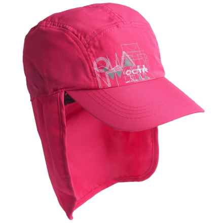 CTR Summit Sunshower Hat - UPF 50+ (For Kids) in Pink - Closeouts