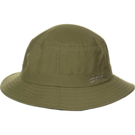 d85a9cb527b CTR Sun Protection Fabric Bucket Hat - UPF 50+ (For Men) in Olive
