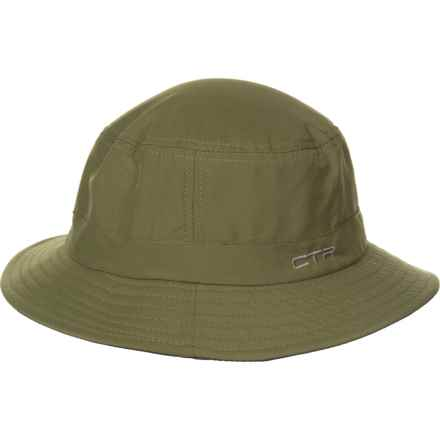 471d0f9f3da19 CTR Sun Protection Fabric Bucket Hat - UPF50+ (For Men) in Olive - Closeouts