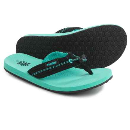 Cudas Edisto Flip-Flops (For Women) in Turquoise - Closeouts