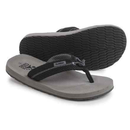 Cudas Edisto PerfectPull Flip-Flops (For Men) in Grey - Closeouts