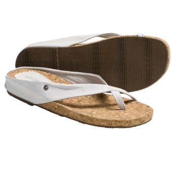Cudas Kiki Sandals (For Women) in White