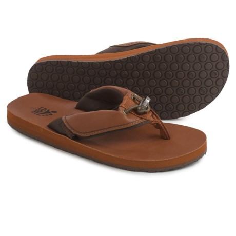 Cudas Warwick Flip-Flops (For Women) in Tan