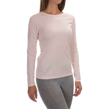 Cuddl Duds Climatesmart® Top - Long Sleeve (For Women) in Blush - Closeouts
