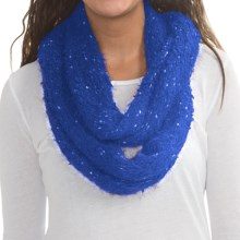 Cuddl Duds Cuddl Soft Infinity Scarf (For Women) in Blue Multi - Closeouts