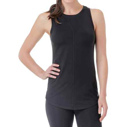 Cuddl Duds SofTech Core Tank Top (For Women) in Black - Overstock
