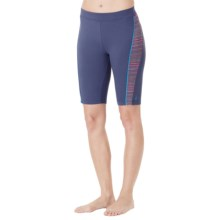 Cuddl Duds Sport Layer SofTech Cool Bermuda Shorts (For Women) in Navy - Overstock