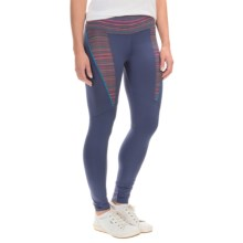 Cuddl Duds Sport Layer SofTech Cool Leggings - High Waist (For Women) in Navy - Overstock