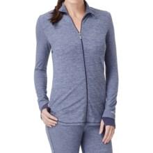 Cuddl Duds Sport Layer SofTech Core Jacket (For Women) in Dark Blue Novelty - Overstock
