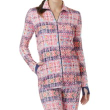 Cuddl Duds Sport Layer SofTech Core Jacket (For Women) in White Multi - Overstock