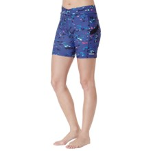 Cuddl Duds Sport Layer SofTech Core Shorts (For Women) in Navy Graphite - Overstock