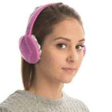 Cuddl Duds Stretch Fleece Earmuffs (For Women) in Soft Orchid - Closeouts
