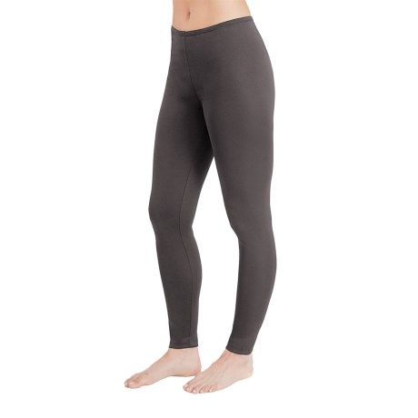 Cuddl Duds Stretch Microfiber Leggings (For Women)