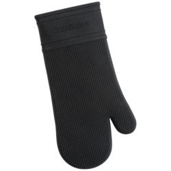 Cuisinart All Silicone Oven Mitt - Quilted Lining in Black