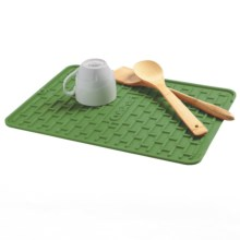 Cuisinart All Silicone Subway Tile Dish Dry Mat in Comfrey - Overstock