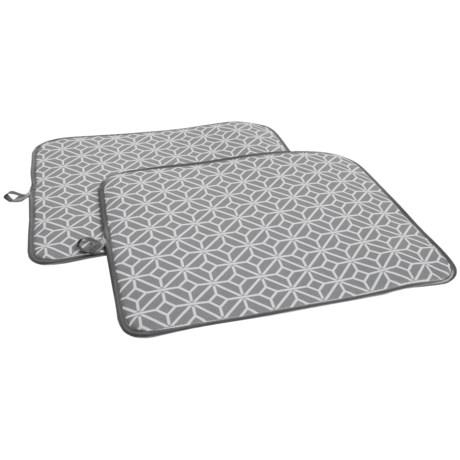 Cuisinart Dish Drying Mat - 2-Pack in Gray