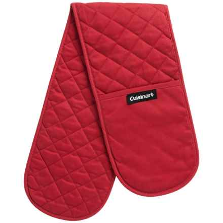 Cuisinart Double Oven Gloves in Red - Closeouts
