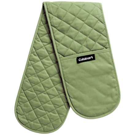 Cuisinart Double Oven Gloves in Sage - Closeouts