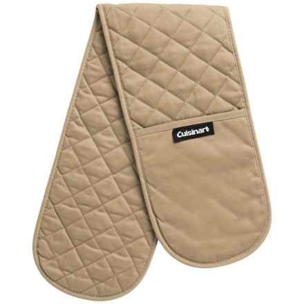 Cuisinart Double Oven Gloves in Tan - Closeouts
